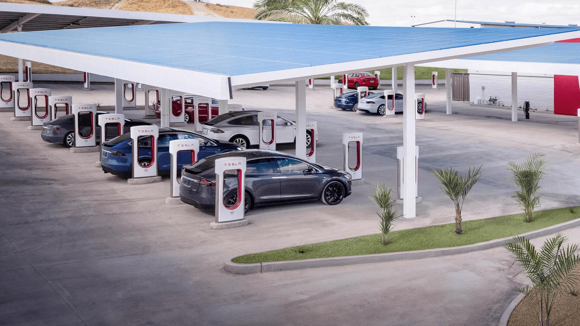 2020 台灣特斯拉 Supercharger 超級充電站收費價目表