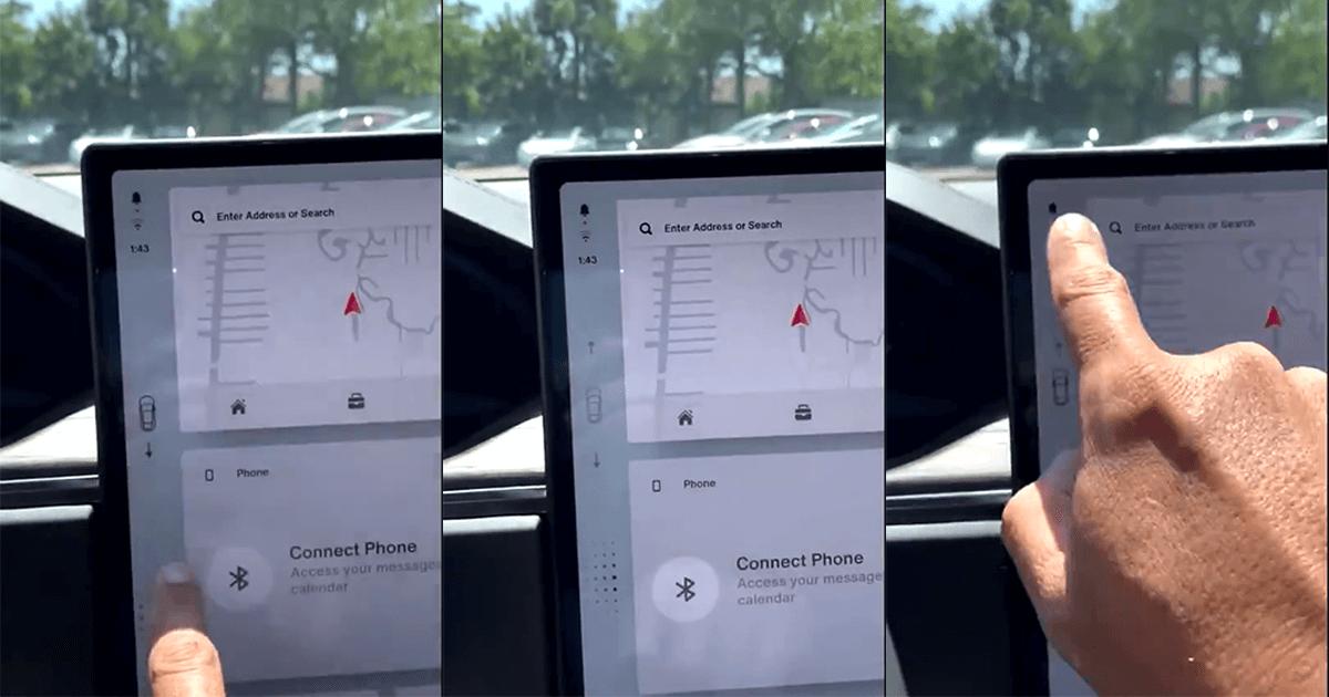 「滑動以前進」新款 Model S/X 觸控螢幕操作取代傳統排檔桿